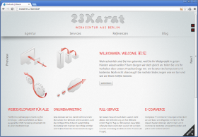 23karat Webdevelopment aus Berlin Website