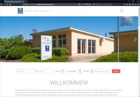 Comfort Hotel Lüneburg Screenshot Website