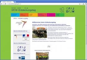 DFJW-Entdeckungstag Website