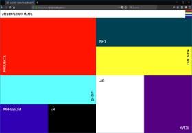 Atelier Florian Markl Screenshot Website