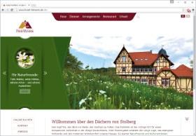 Hotel FreiWerk Screenshot Website