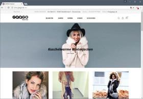 GAAGO Screenshot Website