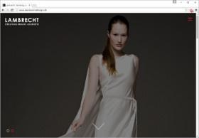 LAMBRECHT Screenshot Website