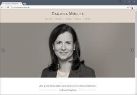 Daniela Möller Screenshot Website