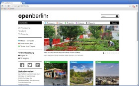 Website openBerlin e.V.