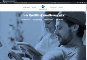 Quality Alliance Screenshot Website