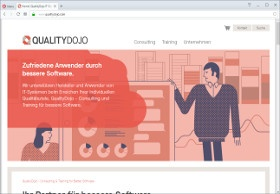 QualityDojo Screenshot Website