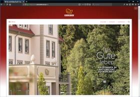 Naturresort Schindelbruch Screenshot Website
