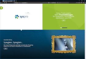 sys-pro GmbH Screenshot Website