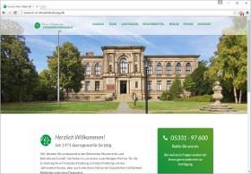 Waßmuth Steuerberaterkanzlei Screenshot Website